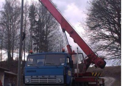 18 ton wysięg podstawowy 20 m
