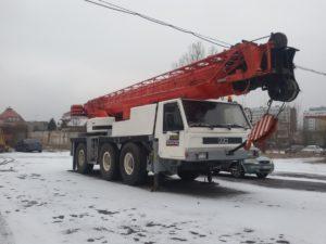 50 ton wysięg podstawowy 41m